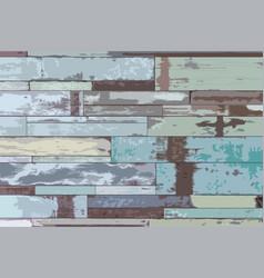 wooden texture backgroundgrunge retro vintage vector image