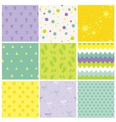9 seamless bapatterns batexture wallpaper vector