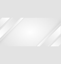 abstract background white and gray diagonal vector image