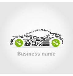 Car business2 vector
