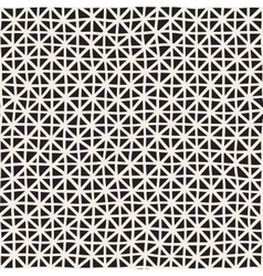 Hand Drawn Line Lattice Seamless Black and vector image