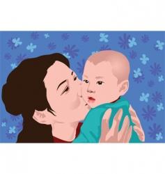 Mum love vector