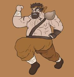 Run barbarian vector