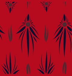 Tribal hand drawn background ethnic pattern boho vector