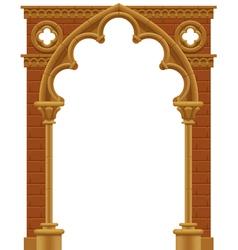 Gothic arch vector