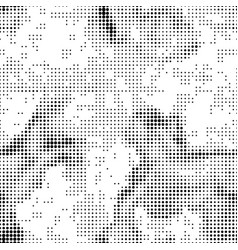 halftone abstract seamless background vector image vector image