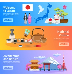 1608i124022sm004c11japan flat banners vector