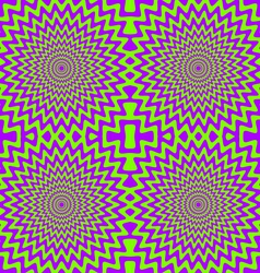 color hypnotic seamless pattern vector image