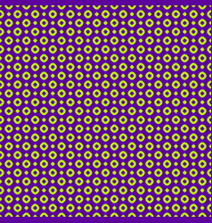 colorful circles and dots seamless pattern neon vector image