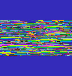 Glitch videotape abstract background eighties vector