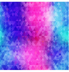 grunge triangle texture vector image