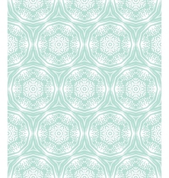 Ornamental elegant hand drawn pattern vector image