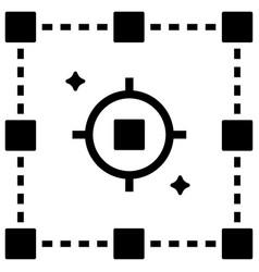 Precision data solid vector