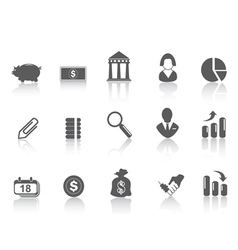 simple bank icon vector image vector image