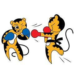 tiger 2 vector image