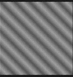 black and white dotted seamless background vector image vector image