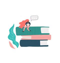 book festival vector image