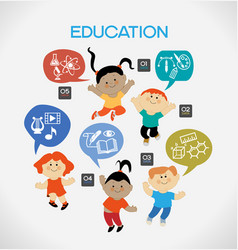 child education vector image