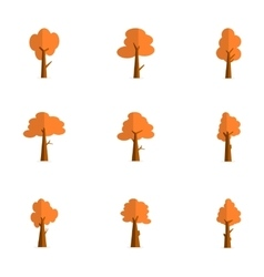 Collection of tree set flat vector