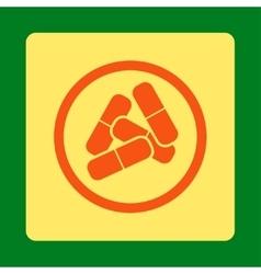 Drugs icon vector image