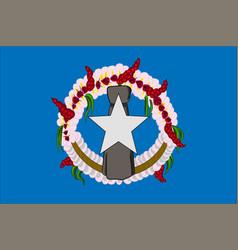 Flag of northern mariana islands usa saipan vector