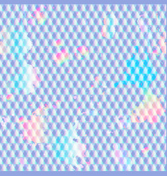 holographic grunge texture vector image