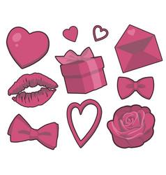 valentine mix vector image