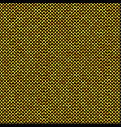 Yellow seamless pentagram star pattern background vector