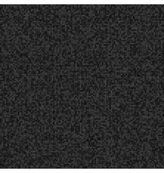 Abstract digital grey pixels seamless pattern vector image vector image