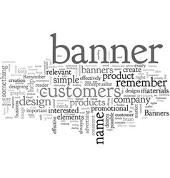 Banner design do it like a pro vector