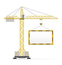 Building crane 04 vector