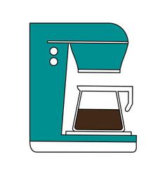 Coffee maker beverage icon image vector