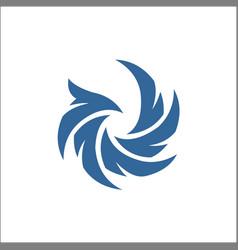 Falcon eagle bird abstract logo template icon vector