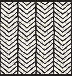 hand-drawn lines geometric seamless pattern vector image