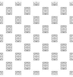 Hockey ice field pattern seamless vector