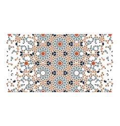 Islamic rich border pattern vector