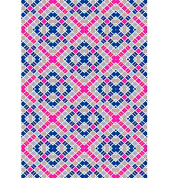 Motley vertical blue and purple squares vector image