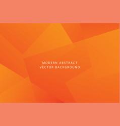 orange dynamic modern background vector image