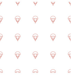 Parachute icon pattern seamless white background vector
