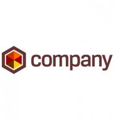 umbrella logo safety vector image vector image