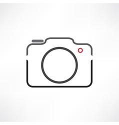 White camera vector image vector image