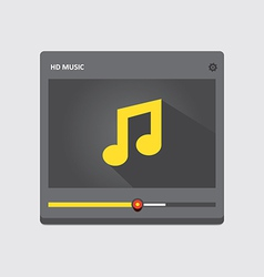 Music player 39 vector