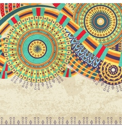 Attractive Ethnic Background Design vector image
