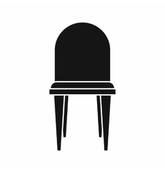 Chair icon simple style vector image