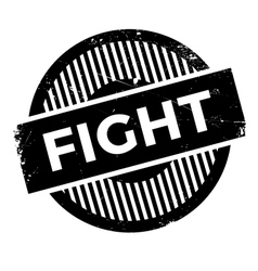 Fight rubber stamp vector