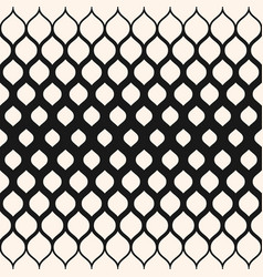 Pattern with halftone transition mesh vector