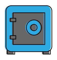 safe box security icon vector image