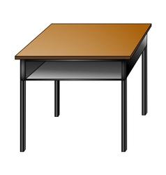Student Desk vector