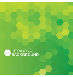 Simple colorful background consisting of hexagons vector