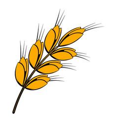Ear of barley icon icon cartoon vector